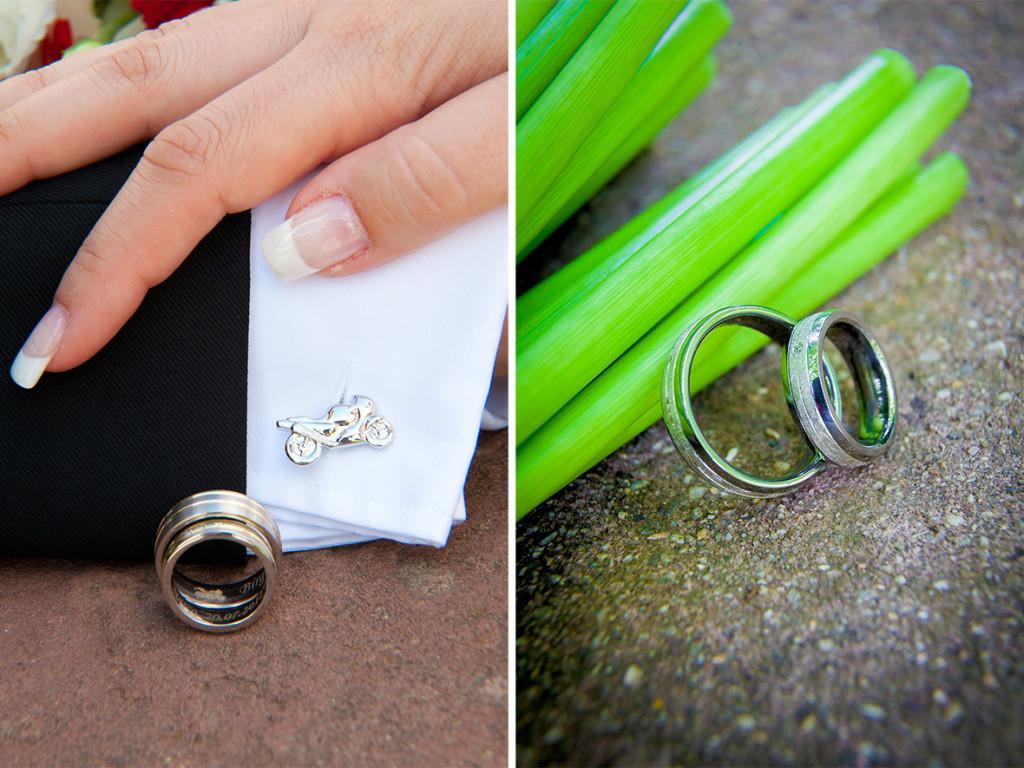 Details:  Beispiel Hochzeitsringe